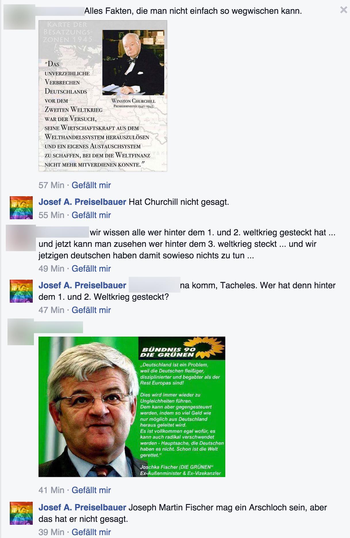 Zitate Fälschen Josef A Preiselbauer