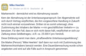 Heerlein_Ankündigung_Marke_Facebook
