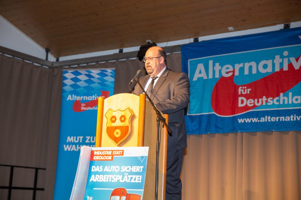 Michael-Gerhard Welter, der Bürgermeisterkandidat der AfD für Moosburg